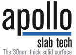 We fit Apollo Slab Tech worktops
