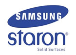 We fit Samsung Staron Solid Surface Worktops