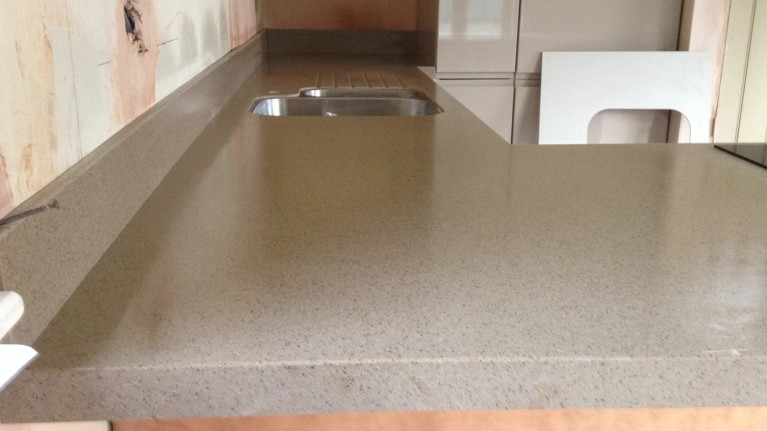 bushboard encore worktop fitter